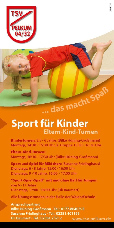 Sport-Spiel-Spaß für Jungen (5 - 9 Jahre)