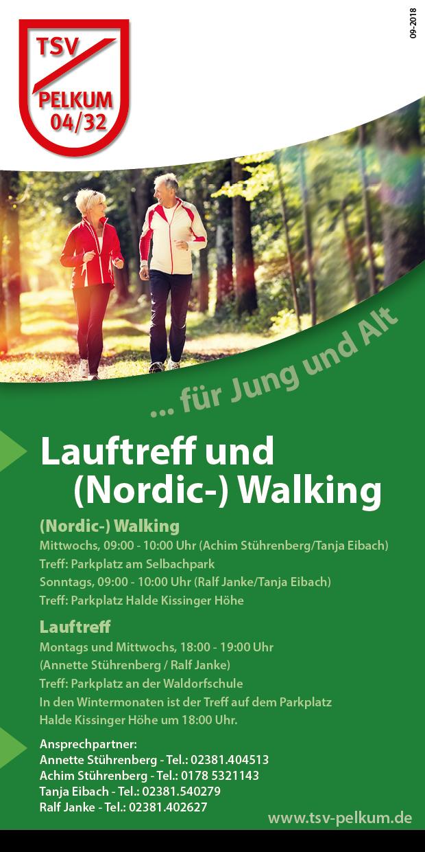Walking für Frauen und Männer