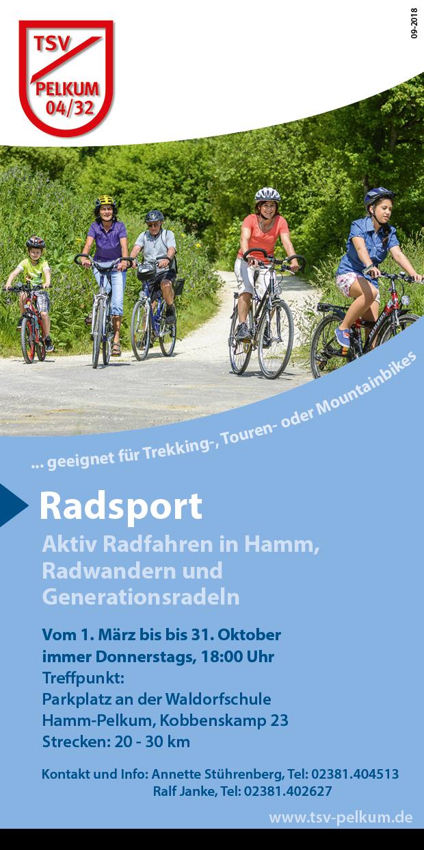 Radtreffn für Frauen und Männer